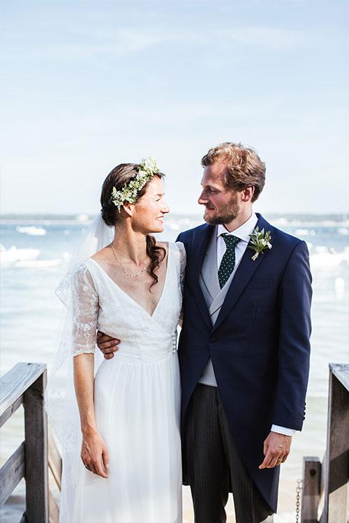 Mariage Marie et Jean au Cap Ferret par Jenny Morel Weddings