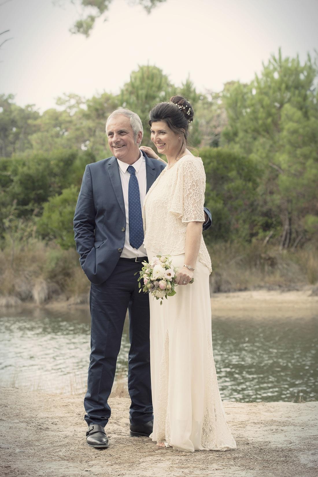 Intimate wedding in Cap Ferret