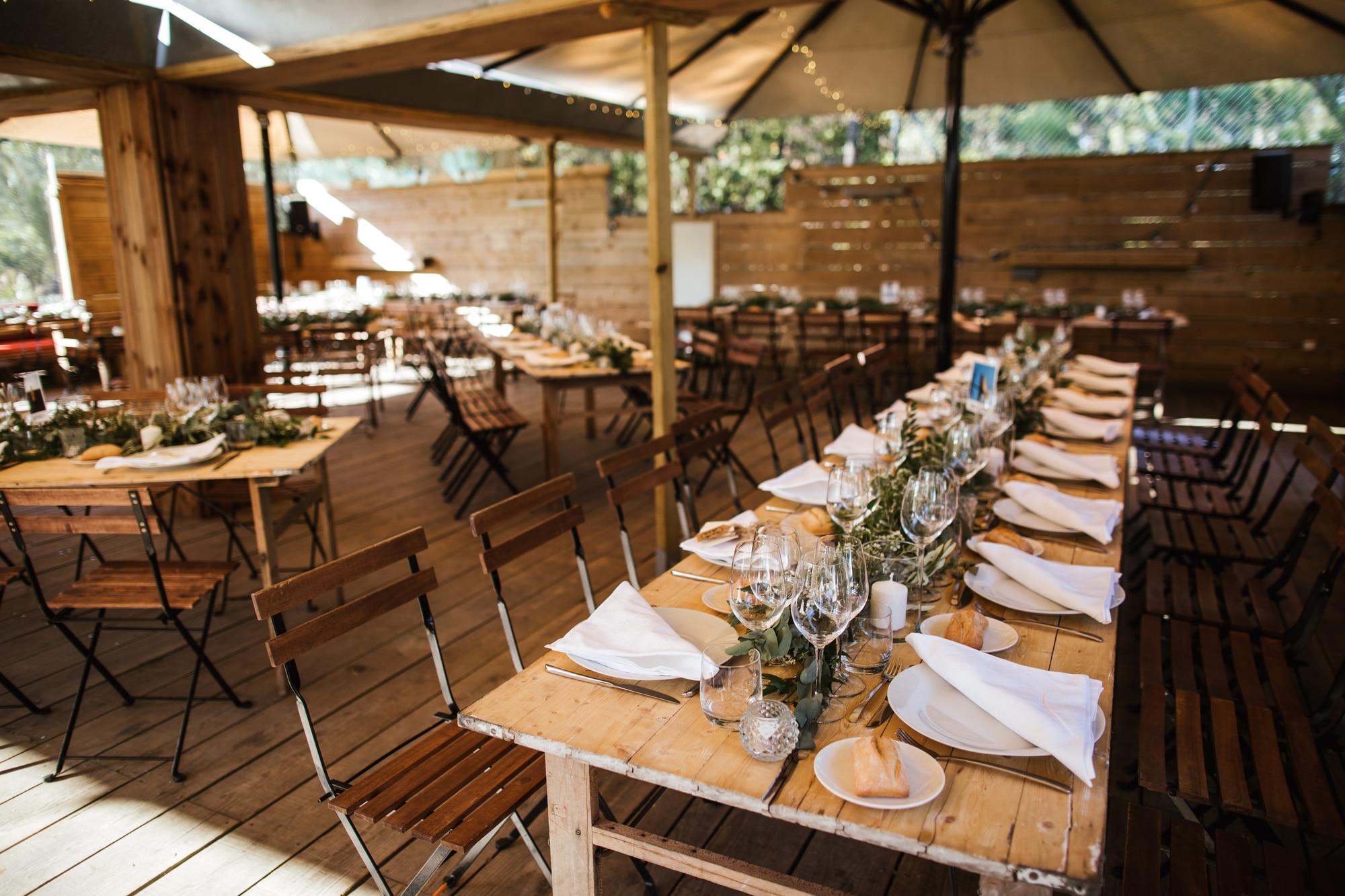 Guinguette wedding in Cap Ferret