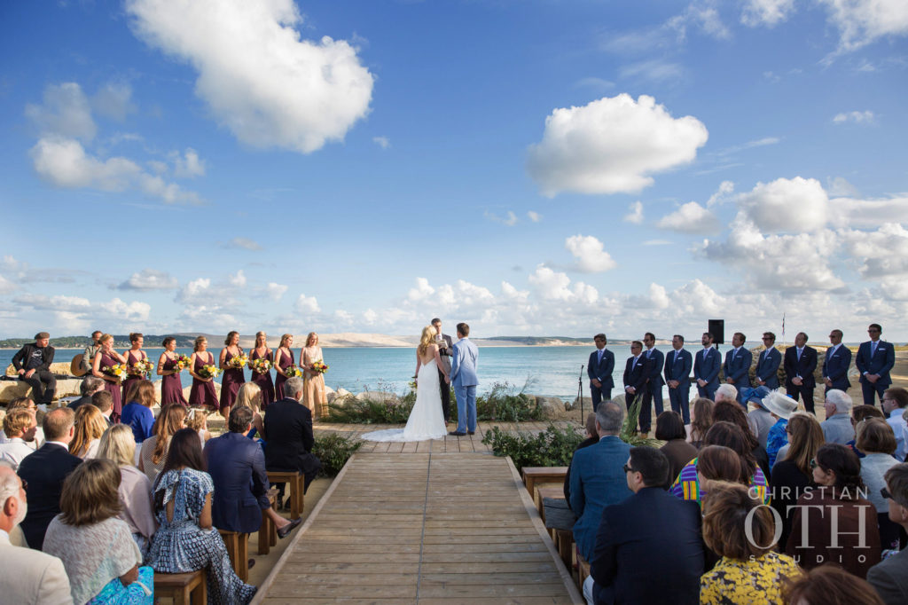 Natalie-Jolion-outdoors-ceremony-facing-dune-pyla